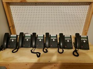 Lot Of 6 Polycom Soundpoint Ip 331 Voip Business Phones Poe Sip 2201 12365 001