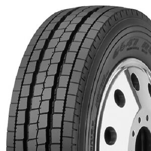 2 New Goodyear G647 Rss 225 70r19 5 Load G 14 Ply Commercial Tires