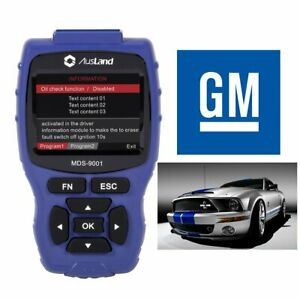 Special For Gm Manufacturing Car Obd2 Scanner Auto Abs Srs Tpms Ecu Coding Tool