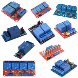 5 9 12 24v 1 2 4 Channel Relay Board Module Optocoupler For Arduino Pic Arm Avr