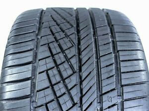 Continental Extremecontact Dws 06 285 30zr19 98y Used Tire 9 10 32 211453