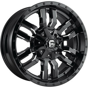 20x9 Black Milled Sledge 6x135 6x5 5 1 Wheels Open Country Mt 35 Tires