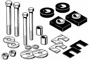 1955 1956 1957 1958 1959 Chevrolet Gmc Truck Rubber Cab Mount Kit With Hardware