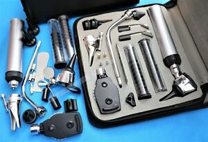 Cynamed Usa Diagnostics Professional Physician Ent Kit Otoscope Ophthalmoscope