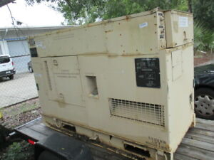 Fermont Military Diesel 30kw Generator Emp Proof Quiet Auxiliary 1ph 3p