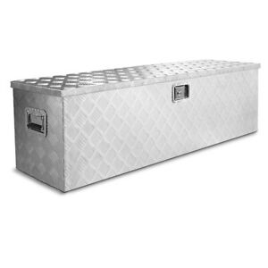 48 X Large Aluminum Tool Box Pickup Truck Storage Underbody Trailer Flat Bed
