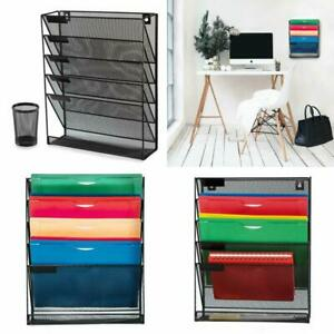 Wall Organizer And Desk File Holder Literature Mail Magazine Rack With Free Pen