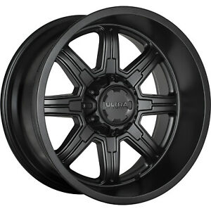 4 20x10 Black Menace 6x135 6x5 5 25 Wheels Terra Grappler G2 Tires