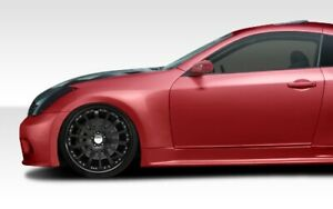 G Coupe Gt500 Wide Body Front Fenders 2 Piece For G35 Infiniti 03 07 Durafl