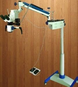5 Steps Dental Portable Microscope With Inclinable Binoculars tiltable Head