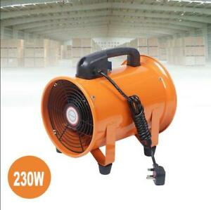 8 High velocity Ventilator Extractor Blower Fan Air Flow Industrial Chemical