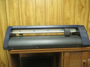 Graphtec Ce 3000 60 24 Inch Cutter plotter With Computer And Supplies
