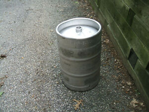 Anheuser Busch Stainless Steel 15 5 Gallon Beer Keg Brewing Rat Rod Tank