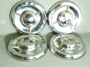 1953 Chevy Bel Air 10 5 Set Of 4 Wheel Covers Wall Height 1 3 4
