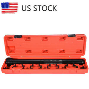 Auto Car Truck Inner Tie Rod Tool Installer Remover Crew Foot Wrench Tool Kit Us