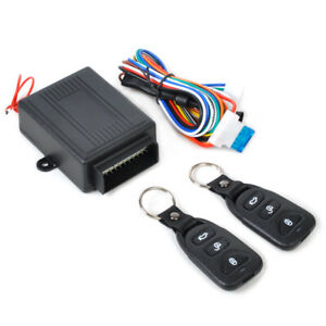 Universal Car Remote Control Central Door Lock Kits Vehicle Keyless Entry System