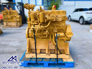 2000 Caterpillar 3126 Diesel Engine 300hp Ar 185 4861 70 Pin 8yl 7 2l Cat