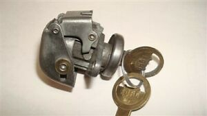 Glove Box Lock With Ford Crest Keys 1951 Ford