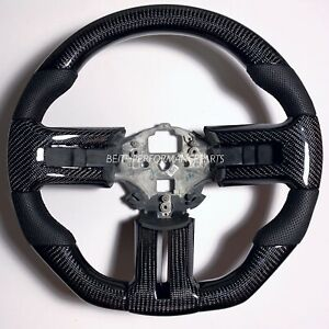 2011 2014 Ford Mustang S197 Carbon Fiber Steering Wheel