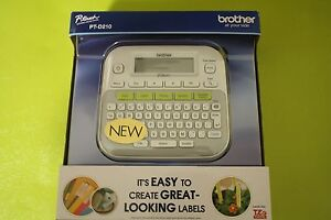 Brother P touch Pt d210 Label Maker Labeler Lcd Display Brand New Sealed