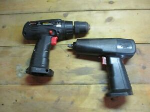 Snap On Ct30 3 8 9 6v Impact Wrench Cdr30 3 8 12v Drill Bare Tools Only