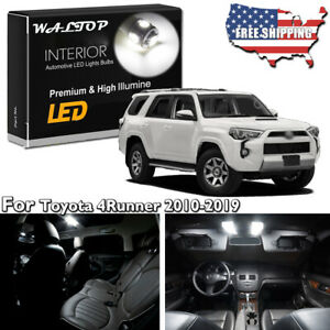 22pc White Led Interior Light Package Kit For 2010 2018 2019 Toyota 4runner Tool