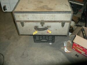 Vintage Military Trunk In Really Good Condition