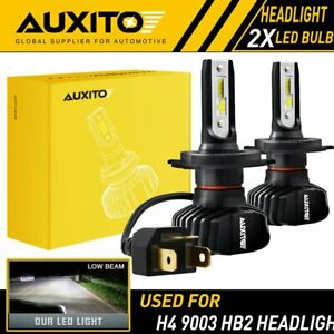 Auxito H4 9003 Led Headlight Bulb Conversion Kit High Low Beam 6000k 9000lm B7 A