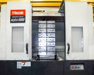 2006 Mazak Nexus Hcn 6000 ii Cnc Horizontal Machining Center