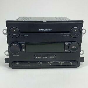 2005 2006 05 06 Ford Mustang Shaker 500 Radio Mp3 6 Cd Disc Changer Player Oem