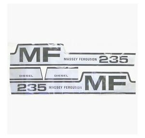 Decal Kit Massey Ferguson 235 Diesel Hood