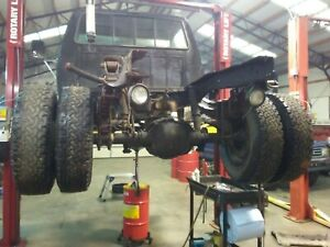 1991 Ford F350 Dually Pickup Rear Axle Drw Cab And Chassis 4 10