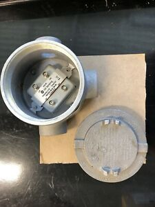 Crouse hinds Explosion Proof Junction Box With Ge Sensor
