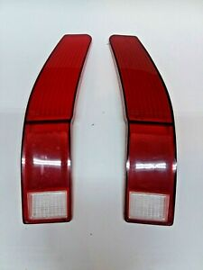 1972 Ford Ranchero Tail Light Lenses Sae Tsiar 72afe Pair