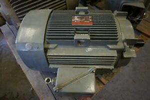 10 Hp General Electric Severe Duty Electric Motor 10 Hp 460 Volt 1165 Rpm