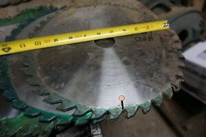 11 Saw Blade For Straight Line Rip Saw 1 1 2 Bore 40 T