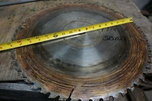 17 1 4 Saw Blade For Cutoff Rip Saw 1 1 8 Bore 60 T