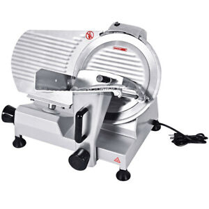 12 Blade Commercial Meat Slicer Deli Meat Cheese Food Slicer Industrial