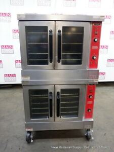 Vulcan Vc4gd 10 Gas Double Deck Full Size Convection Ovens