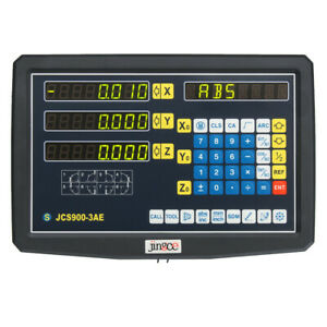 3 Axis Dro Digital Readout Display For Cnc Milling Lathe Machine Jcs900 3ae