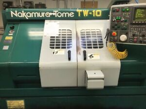 1990 s Nakamura tome Tw 10sp Cnc Lathe With Live Tooling