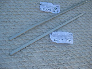Nos Oldsmobile 1983 Hurst Olds 15th Anniversary Edition Hood Scoop Molding Set
