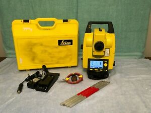 Leica Builder 229 200 Series Reflectorless Total Station 2013 Model With Case