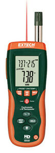 Extech Hd500 Psychrometer W Infrared Ir Thermometer Humidity Brand New