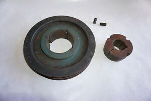 2 Grove Pulley Sheave 9 With 1 5 8 Bore