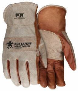 Mcr Safety Mu3213dpl mustang Utility Driver Grain Cow Size L 12 Pair