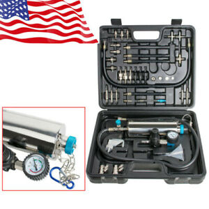 New Auto Non Dismantle Injector Cleaner Tester Fuel System Car Vehicle Washing