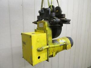Yale Model T3a50m3 Electric Chain Cable Hoist Power Trolley 3 Ph 230 460v