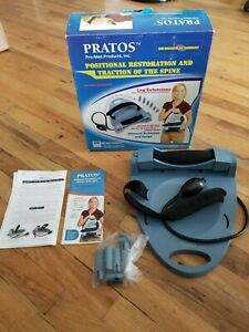 Pratos Cervical Traction Pump Unit Brand New Corrects Posture P r a t o s