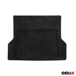 Omac Rubber All Weather Trunk Cargo Floor Mats For Suv Van Truck Auto Liners